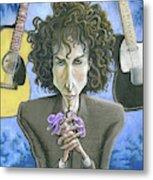 Dusky Resolution - Bob Dylan Metal Print