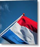 Dutch Flag Metal Print