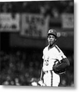 Dwight Goodens First World Series Game Metal Print