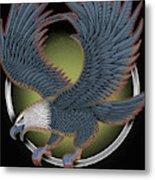Eagle Illustration  Metal Print
