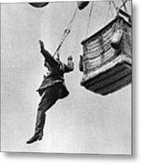 Early Parachute Metal Print