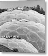 Eden Project Biome  Metal Print