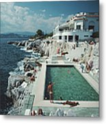 Eden-roc Pool Metal Print