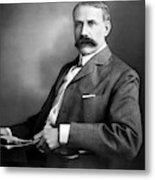 Edward Elgar Studio Portrait Metal Print