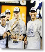 Eight Years To The Day His Blown Save Metal Print