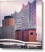 Elbphilharmonie Hamburg Germany  Metal Print