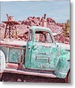 Eldorado Ghost Town Searchlight Nevada Pano Metal Print