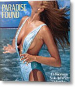 Elle Macpherson Swimsuit 1986 Sports Illustrated Cover Metal Print