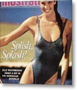 Elle Macpherson Swimsuit 1987 Sports Illustrated Cover Metal Print