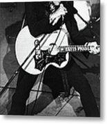 Elvis In Vegas Metal Print