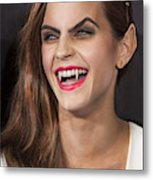 Emma Watson Hair Metal Print