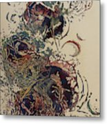 Empty Nest II Up And Out Metal Print