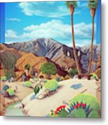 Enchanted Desert Metal Print