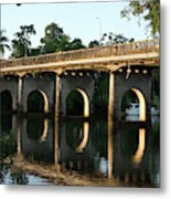 End Of An Era, East Innisfail Jubilee Bridge, Fnq Au  Metal Print