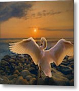 End Of Day Metal Print