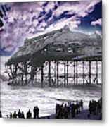 End Of The Pier Show Metal Print