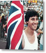 England Sebastian Coe, 1979 Iaaf Dubai Golden Mile Sports Illustrated Cover Metal Print