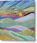 English Downs In Late Autumn Metal Print