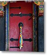 Entrance To The Tibetan Monastery Metal Print