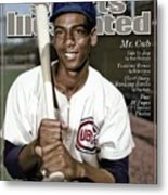Ernie Banks, 1931 - 2015 Special Tribute Issue Sports Illustrated Cover Metal Print