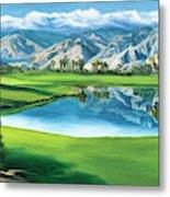 Escena Golf Club Metal Print