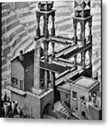 Escher 128 Metal Print