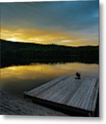 Evening Stillness Metal Print