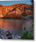 Everson Lake Metal Print