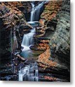 Every Teardrop Is A Waterfall Metal Print