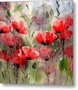 Everything About Poppies Metal Print