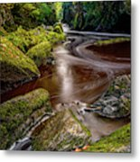 Fairy Glen Gorge Metal Print