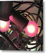 Fairy Lights Close Up Metal Print
