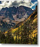 Fall At Maroon Bells Metal Print