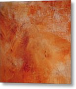 Fall Golden Hour- Abstract Art By Linda Woods Metal Print