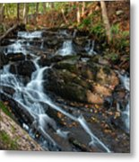 Falling Waters In October Metal Print