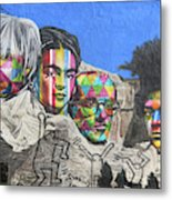 Famous Contemporary Artists Mural Metal Print