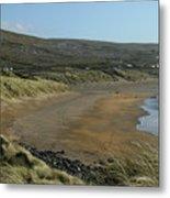 Fanore Beach The Burren Metal Print