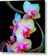 Fantasy Orchids In Full Color Metal Print