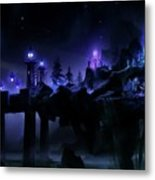 Fantasy Scene Metal Print