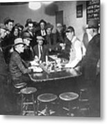 Faro Gambling House After Legalization Metal Print