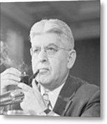 Federal Reserve Board Chair Arthur Metal Print