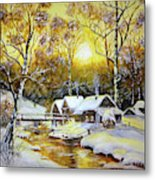Feerie Winter Metal Print
