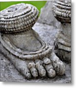Feet Only Metal Print