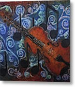 Fiddle 1 Metal Print