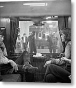 First Class Travel Metal Print
