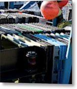 Abstract Fishing   Metal Print