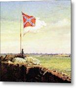 Flag Of Fort Sumter Metal Print