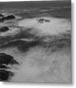 Flat Water Surface Metal Print