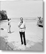 Fleming In Jamaica Metal Print