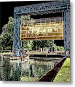 Flood Gate Metal Print